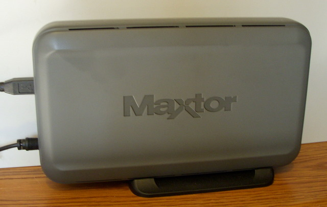 drivers maxtor external hard drive