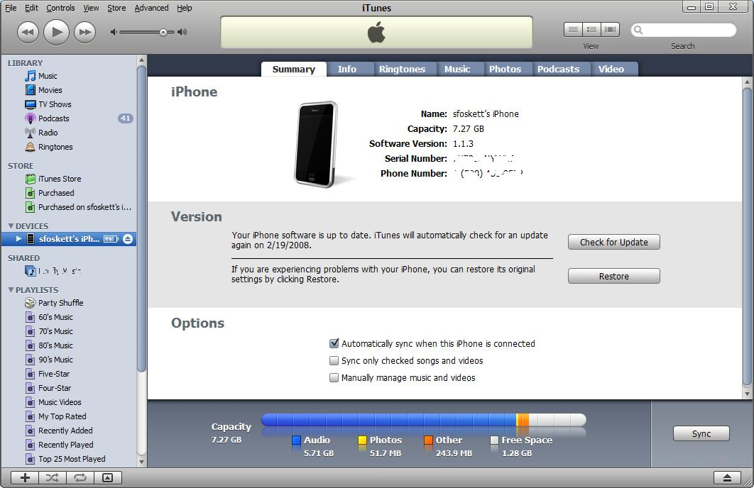 Is There An iPhone 1.1.3 Storage Gremlin?