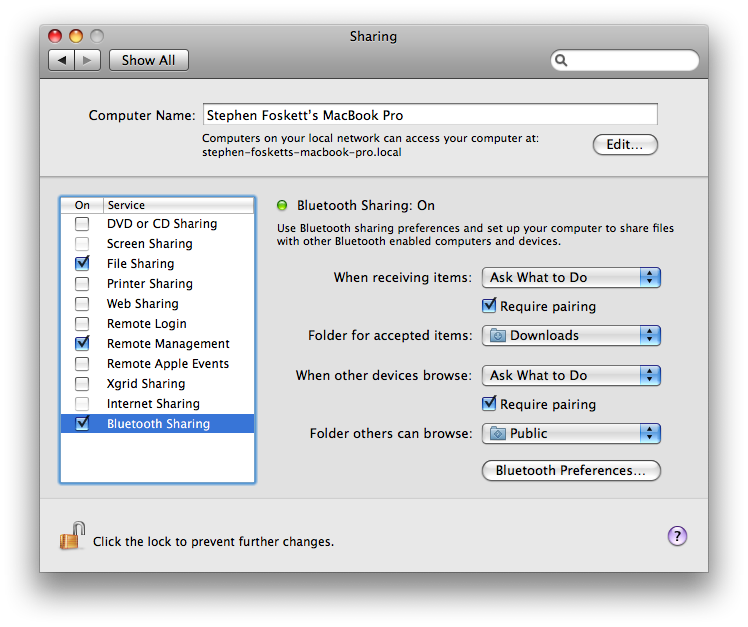 Quick and Easy Bluetooth Sharing Between PC and Mac