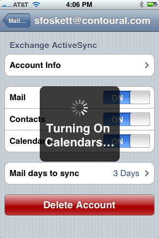 how to set up exchange on iphone