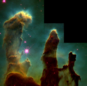 Hopefully vCloud, vClient, and VDC-OS are a little more solid (not to mention closer) than the Three Pillars of Creation in the Eagle Nebula