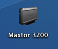 Aah, thats a much better icon for my Maxtor 3200!