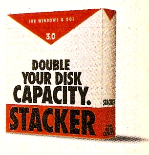 Stacker dominated the disk compression world - until Microsoft introduced DOS 6.0