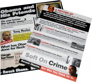 Ohio residents are deluged with anti-Obama mailings like these