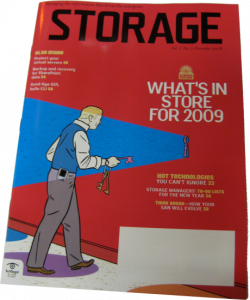 The final issue of Storage magazine was recently mailed (I grabbed a few extras if you want one!)