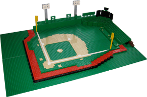 My Lego Fenway Park is ready - Play ball