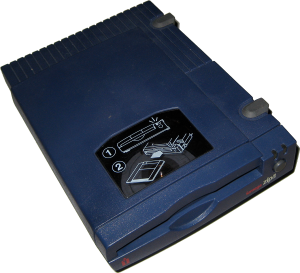 Zip drives like this 1996 parallel-port example made Iomega famous