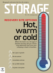 Storage Magazine has returned with an online edition