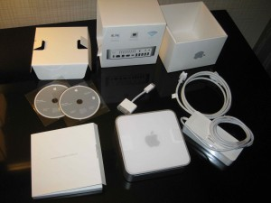 Mac Mini (Early 2009) unboxed at last