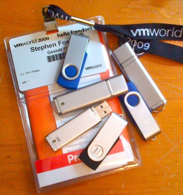 VMworld 2009 Chotchkies by Stephen Foskett