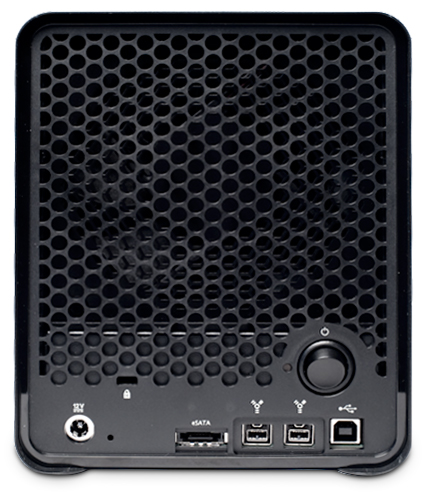 The Drobo S now included eSATA, but connectivity is still limited to a single computer