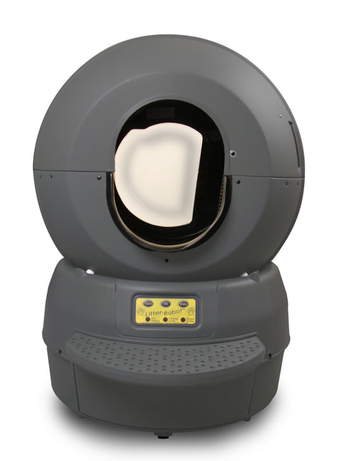 Here it is - the Litter Robot!