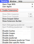 How To: Enable Extensions in Safari 5 for Mac OS X