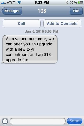 Are you upgrade-eligible? AT&T made me eligible after less than 8 months!