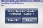 Apple Breaks ICS Calendar Auto-Subscription In iOS 4.2