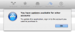 "Mac App Store Error: ""You have updates available for other accounts"""