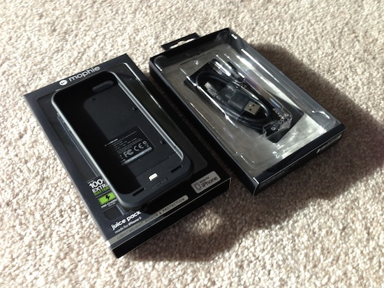 new product f9470 86606 Mophie Juice Pack Air for iPhone 5: Hands-On Review - Stephen ...