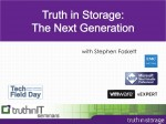 Truth in Storage: The Next Generation – Announcing My 2014 Seminar Series