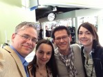 That's me with Janelle Crothers, Ed Horley, and Jessica DeVita, all of whom I'll see at PacITPros TechDays SF this week!