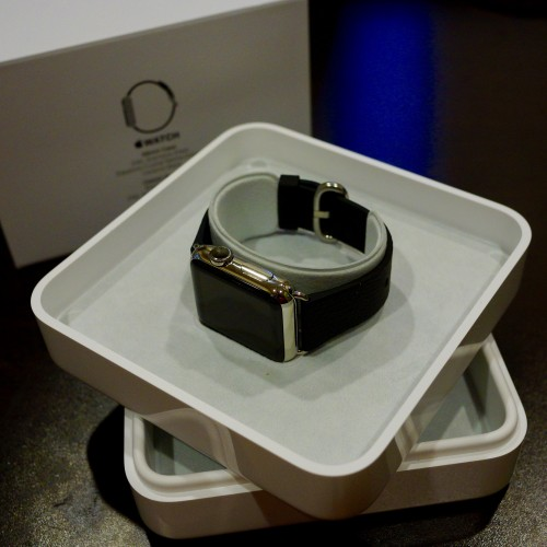 The Apple Watch is here! Each version comes in a different box - this large, heavy box is for the steel.