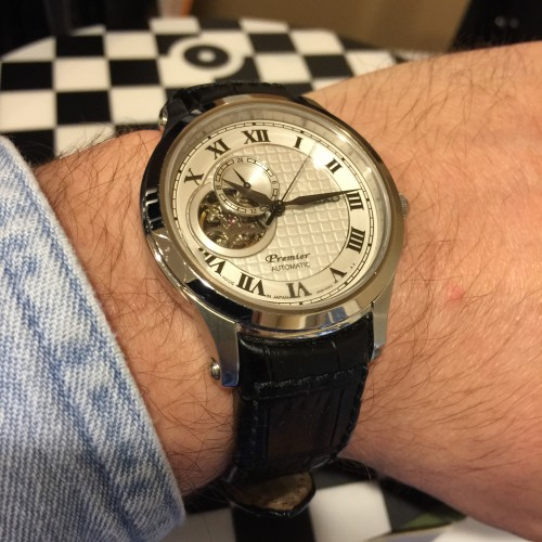 $600 steel watches like this Seiko Premier automatic are toast if the Apple Watch catches on