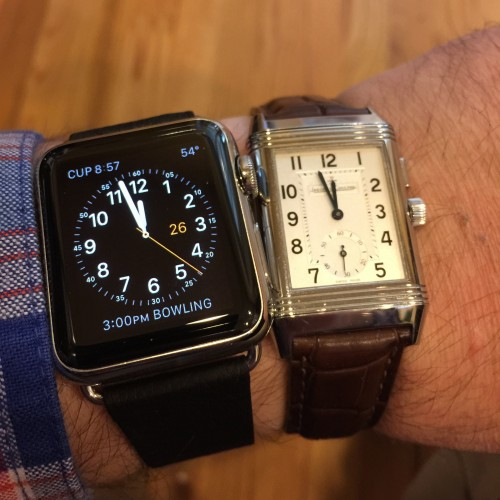 This photo caused the watch nerds on Reddit to squeal in horror!