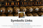 Regarding My Symbolic Links and Good Reads