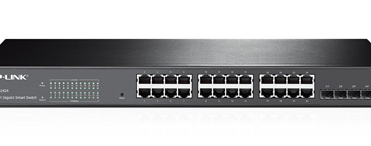 For well under $200, the TP-LINK TL-SG2424 is a great home lab switch