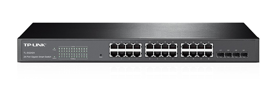 Review Tp Link Tl Sg2424 Smart Gigabit Ethernet Switch For Home Or Office