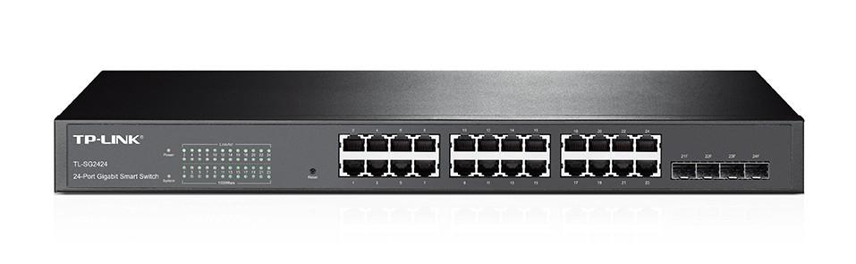 Review Tp Link Tl Sg2424 Smart Gigabit Ethernet Switch