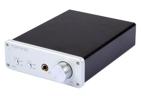 The Topping VX1 is an excellent desktop or bookshelf speaker amplifier with integrated USB audio