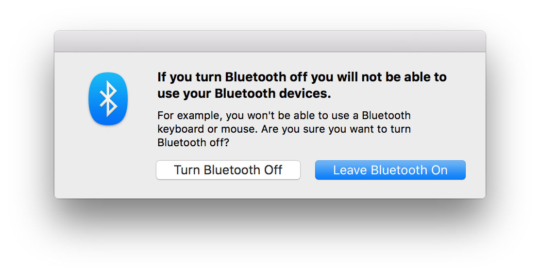 How To Turn On Bluetooth In Mac OS X Using Only The Keyboard