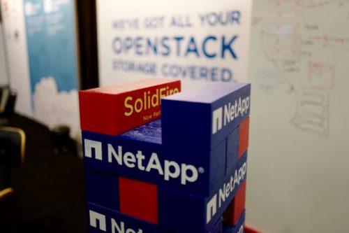 NetApp/SolidFire Jenga