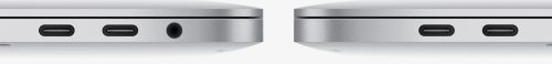 Sadly, Apple appears not to have included the Thunderbolt icon on the new MacBook Pro ports, creating even more customer confusion!