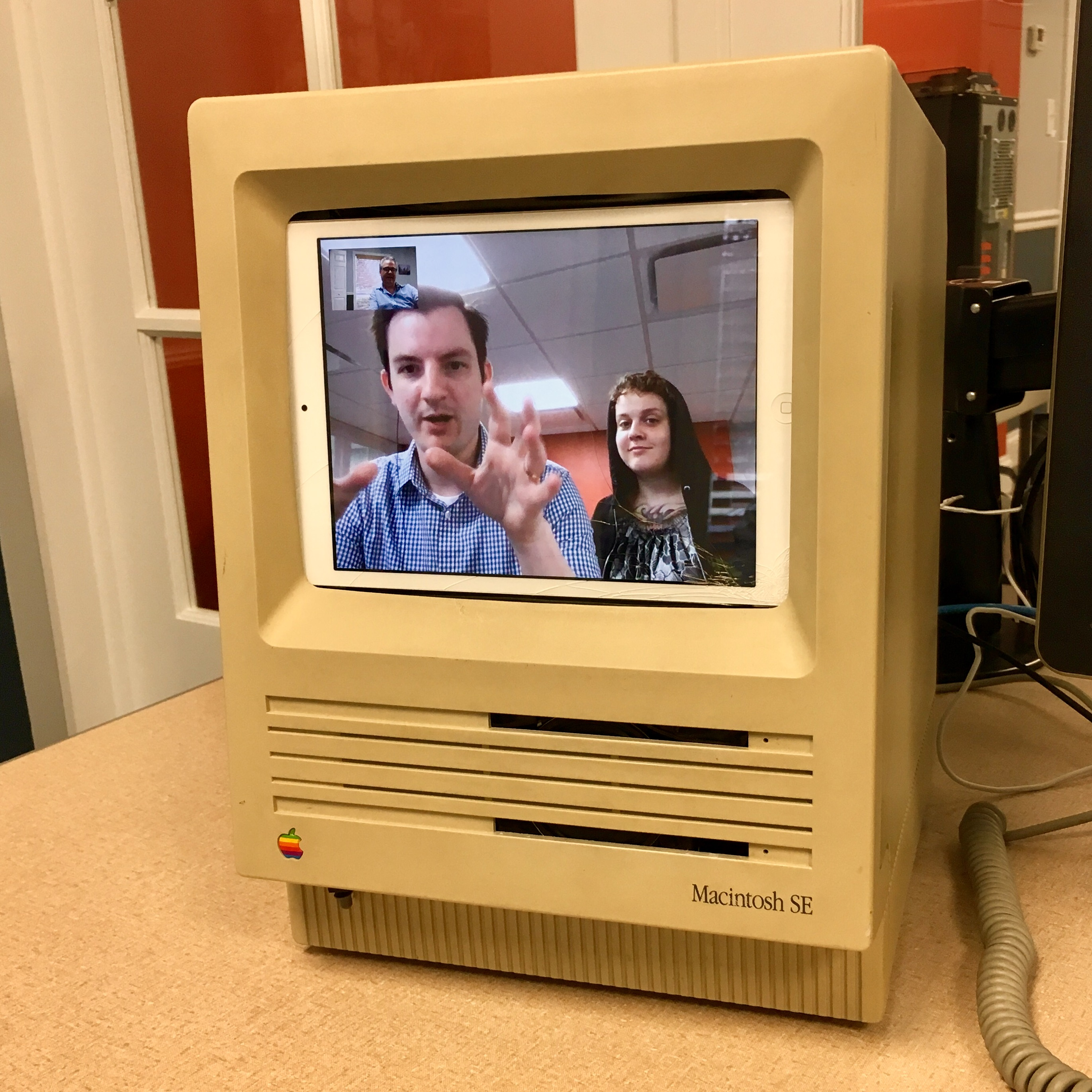 The Biggest, Clunkiest iPad Mini Case Ever: My Old Mac SE!